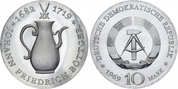 DDR 10 Mark 1969 A Böttger