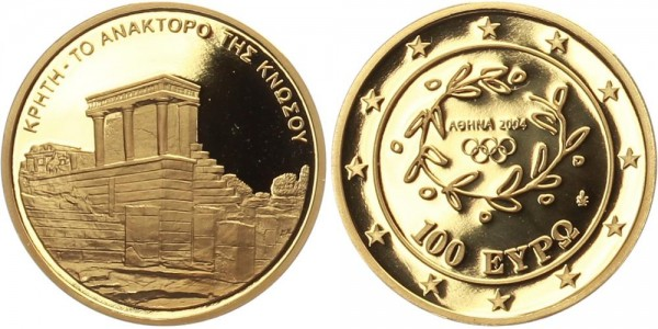 Griechenland 100 Euro 2004 - Olympische Sommerspiele