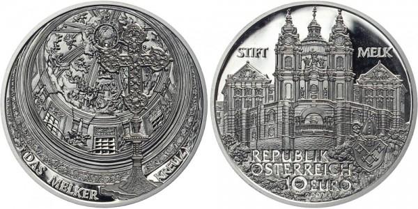 Österreich 10 EUR 2007 - Stift Melk