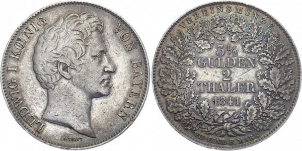 Bayern 1 Doppeltaler 1841 - Ludwig I.
