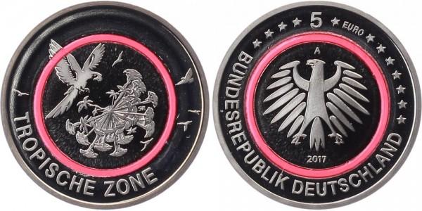 Deutschland 5 Euro 2017 PP Berlin Tropische Zone