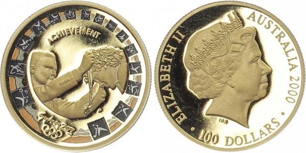 Australien 100 Dollars 2000 - Olympiade 2000 in Sydney