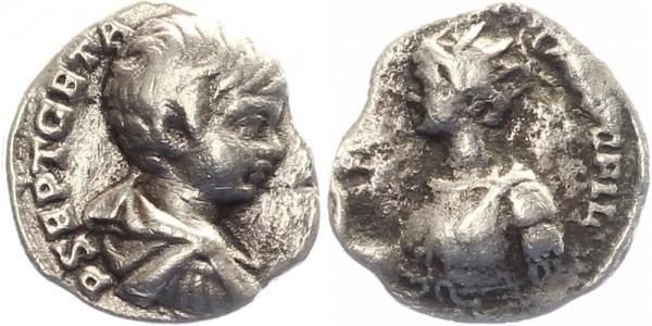 Geta - 198-212 n.Chr. - Caesar/Augustus, Büste Caracalla