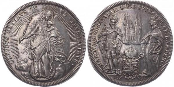 Bamberg 1 Taler 1691 - Marquard Sebastian Schenk von Stauffenberg