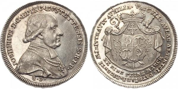 Eichstätt 1/2 Thaler 1796 - Joseph v. Stubenberg