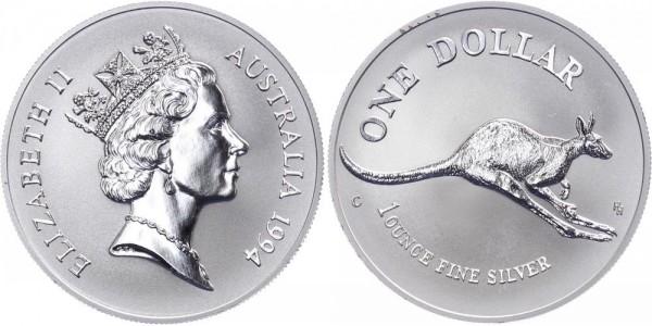 Australien 1 Dollar 1994 - Känguru