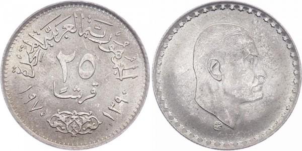 Ägypten 25 Piastre 1970/1390 - Präsident nasser
