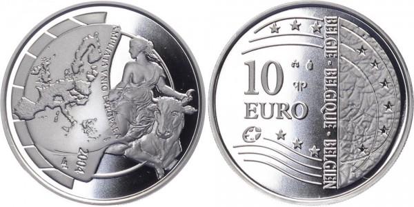 Belgien 10 Euro 2004 - EU Erweiterung