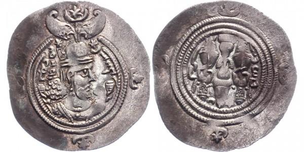 Sassaniden Drachmen ca. 300 n. Chr. - -