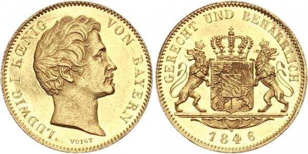 Bayern 1 Dukat 1846 - Ludwig I.