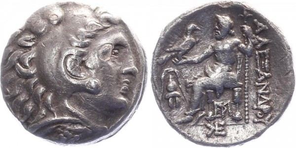 Makedonien Tetradrachme 336-323 v. Chr. - Alexander