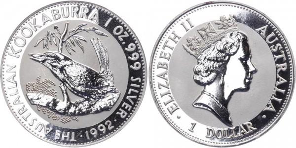 Australien 1 Dollar 1992 - Kookaburra