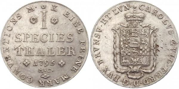 Braunschweig 1 Thaler 1795 - Species Thaler