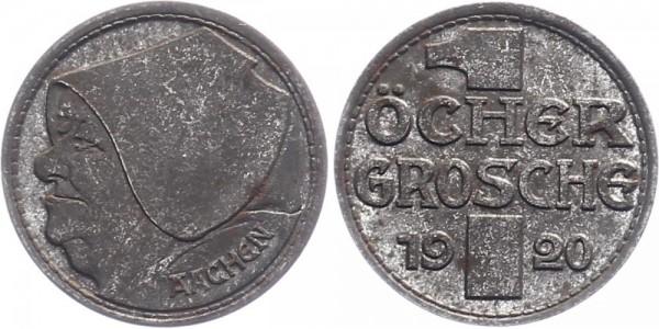 Aachen 1 Öcher Groschen 1920 - Notgeld