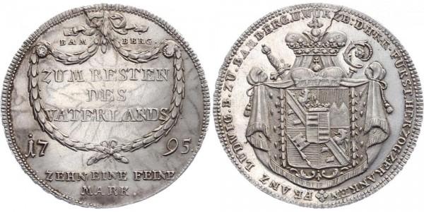 Bamberg 1 Taler 1795 - Franz Ludwig von Erthal