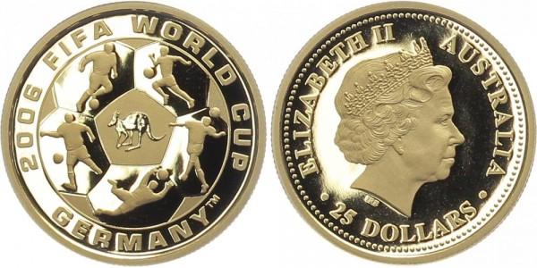 Australien 25 Dollars 2006 - Fußball Weltmeisterschaft