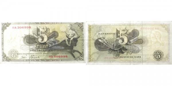 BRD 5 Mark 1948 - Banknote