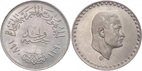 Ägypten 1 Pfund 1970/1390 - Präsident nasser