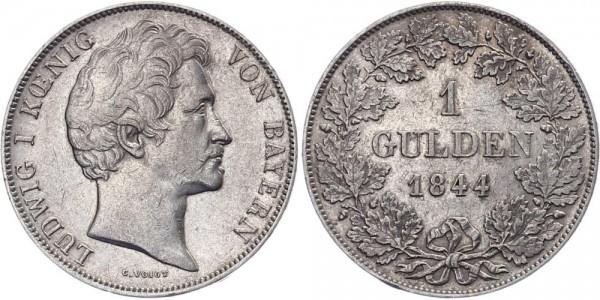 Bayern 1 Gulden 1844 - Ludwig I.