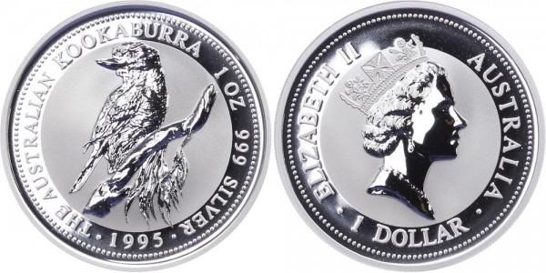 Australien 1 Dollar 1995 - Kookaburra