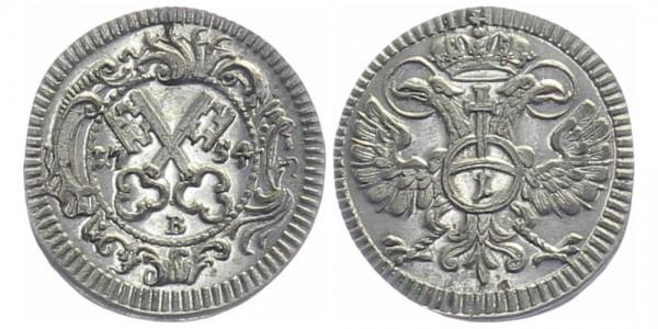 REGENSBURG 1 Kreuzer 1754 - Kursmünze