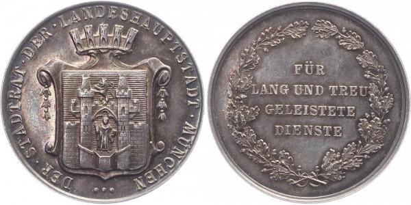 Deutschland Medaille o.J. München Auszeichnung für lang und treu geleistete Dienste.
