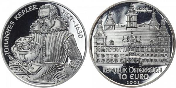 Österreich 10 EUR 2002 - Schloss Eggenberg