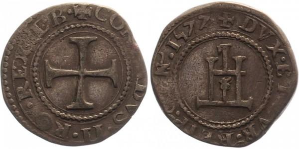 Genua 1/8 Sendo 1577 - Konrad II.