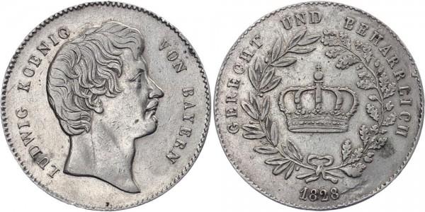 Bayern Kronentaler 1828 - Ludwig I.