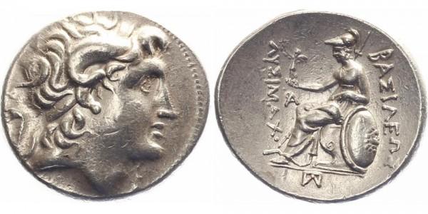 Lysimachos Tetradrachme 323-281 v.Chr. - Alexander der Große