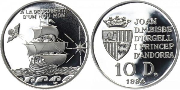 ANDORRA 10 Diners 1994 - A la Descoberta