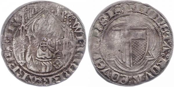 Trier Weissgroschen 1388-1418 - Werner von Falkenstein