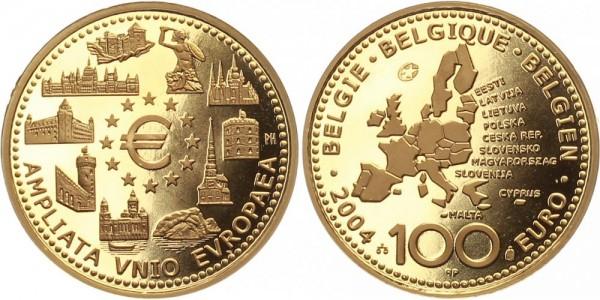 Belgien 100 Euro 2004 - EU Erweiterung