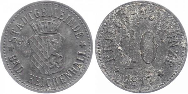 Bad Reichenhall 10 Pfennig 1917 - Notgeld