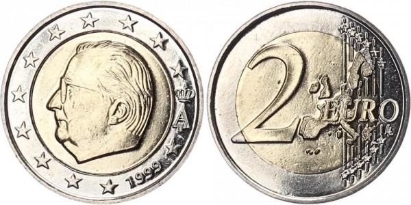 Belgien 2 Euro 1999 - Kursmünze