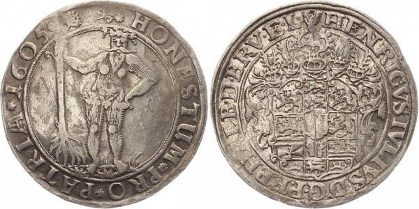 Braunschweig Reichsthaler 1605 - Henricus Julius
